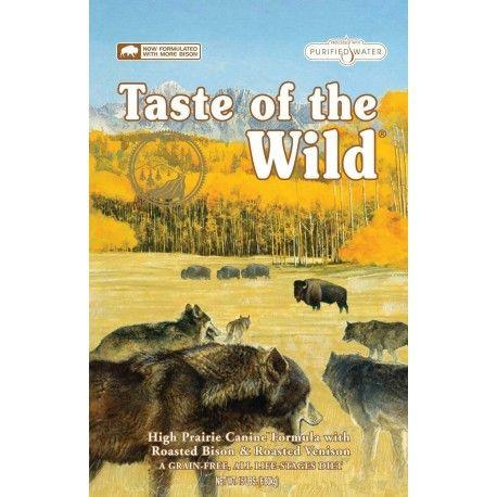 TASTE OF THE WILD HIGH PRAIRIE BISONTE VENADO 28LB