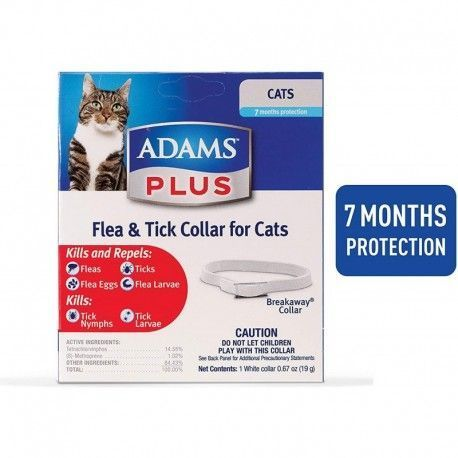 ADAMS PLUS CATS FLEA COLLAR TICK