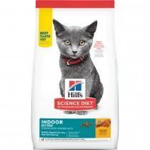 ALIMENTO HILLS GATOS KITTEN INDOOR 3,5 LB CACHORROS