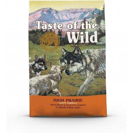 TASTE OF THE WILD HIGH PRAIRIE PUPPY BISONTE VENADO 28LB