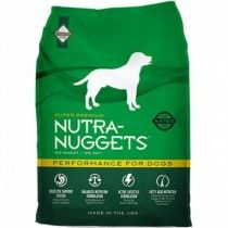 NUTRA NUGGETS PERROS PERFORMANCE 15 KG