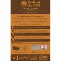 TASTE OF THE WILD HIGH PRAIRIE PUPPY BISONTE VENADO 14LB