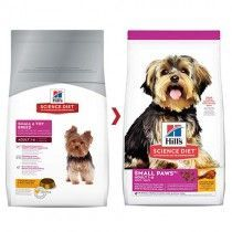ALIMENTO HILLS C ADULT & TOY BREED 4,5LB