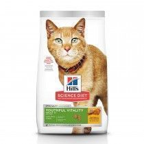 ALIMENTO HILLS YOUTHFUL V ADULTO 7+ 3lb GATOS