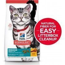ALIMENTO HILLS GATOS ADULTOS INDOOR FOOD 3,5LB