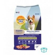COUNTRY VALUE PERROS CACHORROS 3 KG
